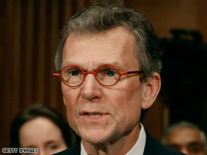 Former Senate colleagues of Tom Daschle said Tuesday they were shocked by his sudden decision to withdraw from consideration as President Obama's Secretary of Health and Human Services.
