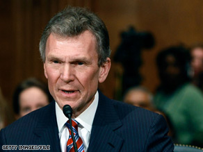 A source said the development had been very difficult for Daschle.