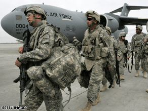 A majority of Americans support increasing troop levels in Afghanistan.