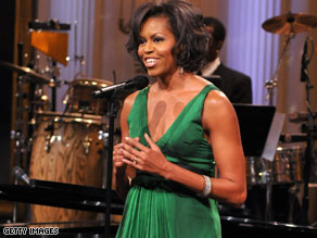 My crush on Michelle Obama
