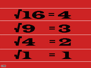 Square Root Day celebrates perfect squares like these. How many more can you name?