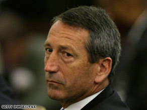A South Carolina Democratic leader had tough words for Mark Sanford on Monday.
