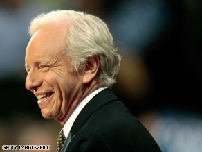 Independent Sen. Joe Lieberman will back Democratic Sen. Chris Dodd's upcoming battle for re-election.