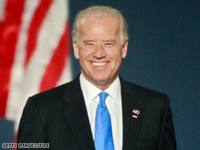 Joe Biden wrote a campaign e-mail urging his supporters to stand behind Republican-turned-Democrat Sen. Arlen Specter.