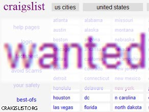 Craigslist has become a meeting place for those hurt by the economic downturn.