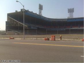 Detroit's Tiger Stadium.