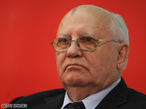 Former president of the Soviet Union Mikhail Gorbachev will meet with Vice President Joe Biden Friday at the White House.