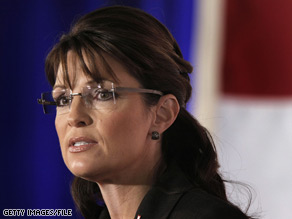 Palin takes aim at Obama's energy legislation.