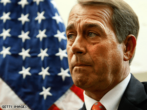 Boehner called the congressional seat in New York's 20th district 'a Democrat seat.'
