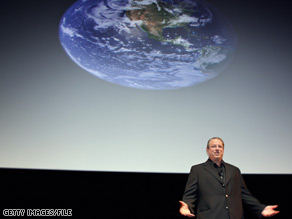 Former Vice President Al Gore used Earth Day to criticize congressional Republicans for opposing President Obama's agenda.