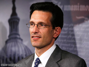 House Republican Whip Eric Cantor criticitized the Obama administration's plans to strengthen the housing market as Republicans debuted their own proposal.