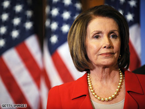 CNN's Larry King asked House speaker Nancy Pelosi on Tuesday if the economy is turning around.