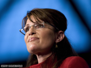 Sarah Palin spoke in Anchorage on Wednesday.