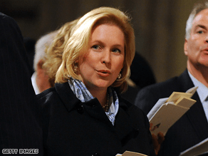 Gillibrand said she supports same-sex marriage.