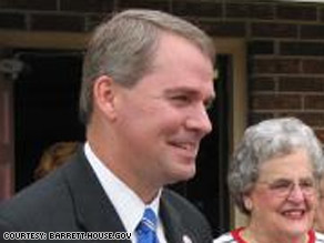 Rep. Gresham Barret, R-South Carolina, recently faced a not-so-friendly crowd at a Tea Party protest.
