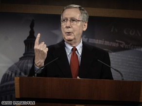 Senate Minority Leader Mitch McConnell expressed his concerns Tuesday about President Obama's timeline to close the Guantanamo Bay prison by January.