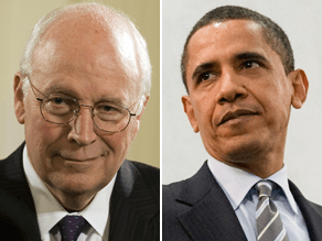 Cheney's war of words with the Obama administration continues.
