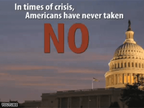 A new ad paints Republicans as 'the party of no.'
