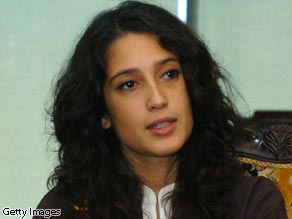 Fatima Bhutto is the niece of Pakistan's former prime minister, the late Benzazir Bhutto.