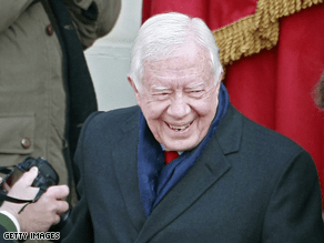 Carter will testify on Capitol Hill Tuesday.