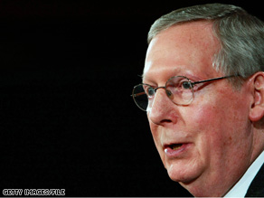 Senate Minority Leader Mitch McConnell said he didn't watch Cheney's speech.
