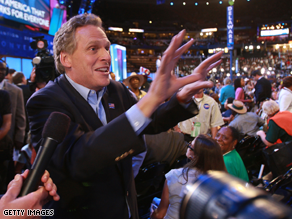 McAuliffe is one of three Democrats seeking their party's nomination for governor in Virginia.