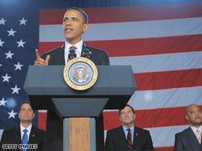 Obama raised cash for congressional candidates Sunday in Indiana.