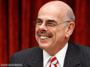 Democrat Henry Waxman is trying to get his party's massive climate change bill out of his committee by Memorial Day.