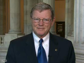 Senator Inhofe says the detention center at Guantanamo Bay, Cuba is a great resource.