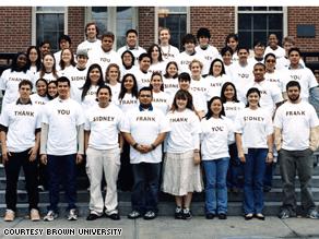 49 Sidney Frank scholars graduating Sunday