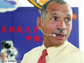 Charles Bolden flew two space shuttle missions as a pilot and two missions as a commander.