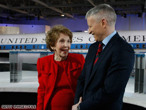 Former first lady Nancy Reagan will be attending an event at the White House on Tuesday afternoon.