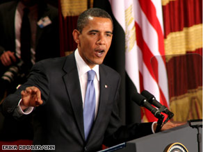 No system of government can or should be imposed upon one nation by any other, the president said Thursday.