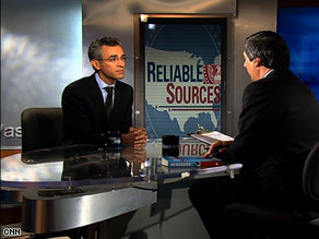 Journalist Richard Wolffe sat down with CNN's Howard Kurtz on Sunday's Reliable Sources.