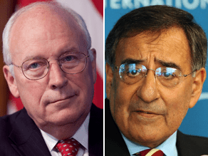 Panetta says Cheney is almost 'wishing' for a terrorist attack.