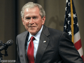 Bush criticized a range of Obama policies Wednesday.