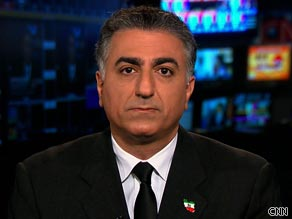 Former Iranian Crown Prince Reza Pahlavi tells CNN there are reports some security forces have been joining protesters in the streets of Tehran.