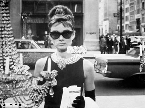 Audrey Hepburn (1929 - 1993), as Holly Golightly, in the film, 'Breakfast at Tiffany's' directed by Blake Edwards.