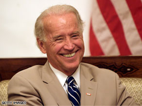 Joe Biden announced a deal Wednesday between the government and hospitals on health care reform.