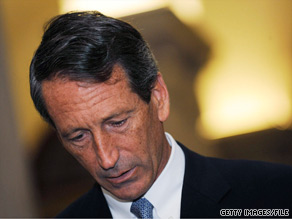 Sanford is also facing a possible impeachment effort.