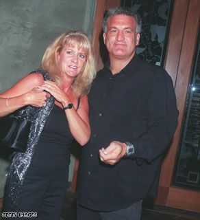 Mary Jo Buttafuoco in a 2000 photograph with her husband, Joey, outside Spago restaurant in Beverly Hills, CA.