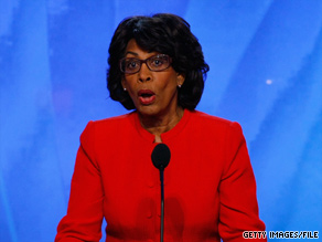 Rep. Maxine Waters scored the fifth spot on an annual list of Capitol Hill's 50 most beautiful people.