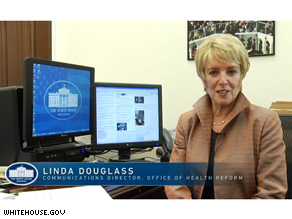 Douglass heads communication efforts for the White House health care reform push.