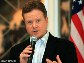 U.S. Senator Jim Webb arrived in Myanmar on Friday where he is scheduled to meet with the reclusive country's military junta.
