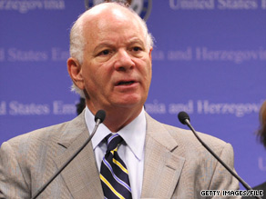 The nephew of Maryland Democratic Sen. Ben Cardin has apologized for using resources of the Baltimore City Police Department as part of a marriage proposal.
