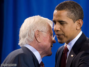 Obama will talk about the impact that the senator has had on him.