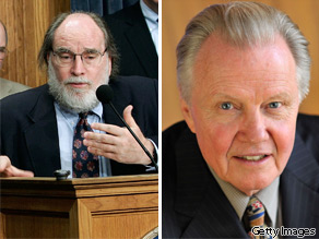 Rep. Neil Abercrombie-D (L) Jon Voight (R)