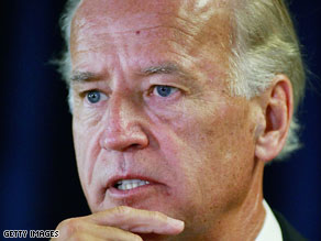 Vice President Joe Biden trumpeted the role of the stimulus package in sparking an economic recovery.