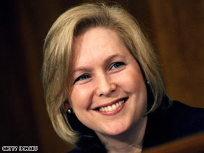 Gillibrand's finance director fired off an e-mail to supporters asking them to open their wallets to help fend off 'one of the biggest attack dogs' in the GOP.
