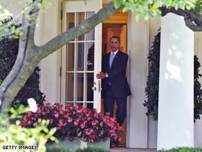 Slight majority approve of Obama on economy.